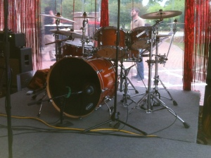 Lefty Williams gig 04272013 - kit