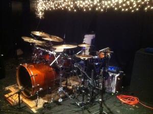 Taye kit on Famous Pub stage - 1
