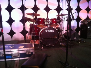 Yamaha Drums on Stage