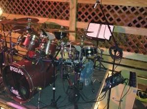 Bootleg drums - KB gig - 1