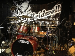 Bootleg drums - JCB gig - 1