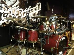 Bootleg drums - JCB gig - 2