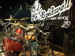 Bootleg drums - JCB gig - 3