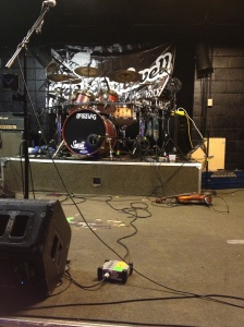 Bootleg drums - JCB gig - 4