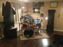 Drum Studio - lighted view - 1